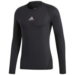 Clothing Men Long sleeved tee-shirts adidas Originals Alphaskin Sport LS Black