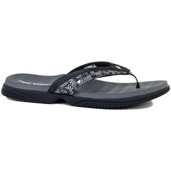 Shoes Women Flip flops New Balance Womens Jojo Thong Black, Grey