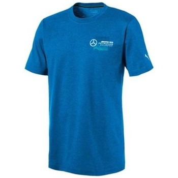 Clothing Men Short-sleeved t-shirts Puma Amg Logo Tee Blue