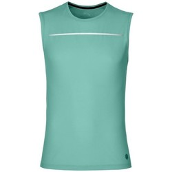 Clothing Men Tops / Sleeveless T-shirts Asics Liteshow Sleeveless