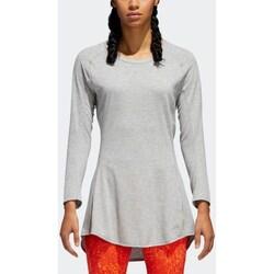 Clothing Women Long sleeved tee-shirts adidas Originals Supernova Pure W Grey
