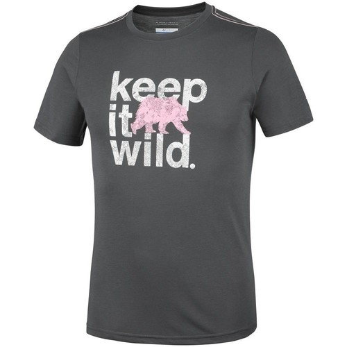 Clothing Men Short-sleeved t-shirts Columbia Miller Valley Graphite