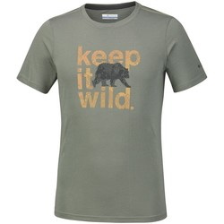 Clothing Men Short-sleeved t-shirts Columbia Miller Valley Olive