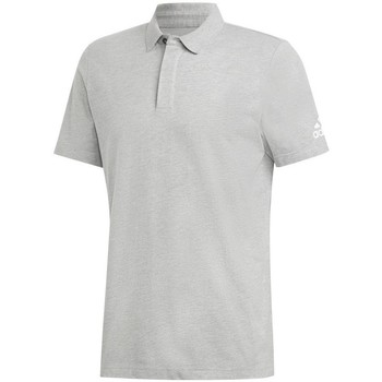 Clothing Men short-sleeved polo shirts adidas Originals MH Plain Grey
