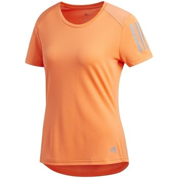 Clothing Women Short-sleeved t-shirts adidas Originals Own The Run Tee Orange
