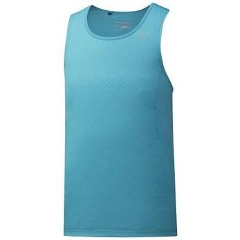 Clothing Men Tops / Sleeveless T-shirts Mizuno Alpha Vent Singlet Green