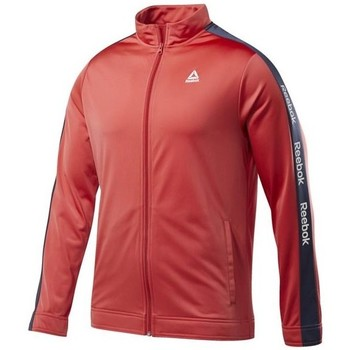 Clothing Men Track tops Reebok Sport Training Essentials Linear Logo Red