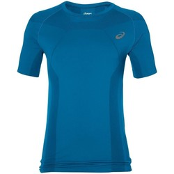 Clothing Men Short-sleeved t-shirts Asics Tech Tee Blue