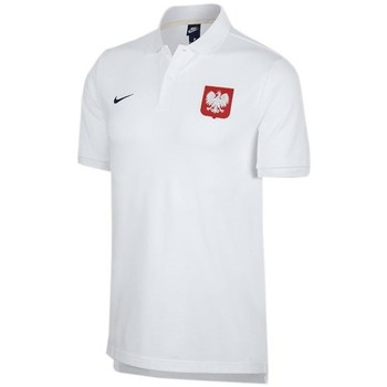 Clothing Men short-sleeved polo shirts Nike Poland 2018 Polo White