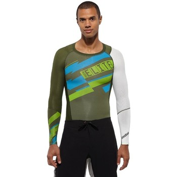 Clothing Men Long sleeved tee-shirts Reebok Sport Crossfit White,Green,Blue