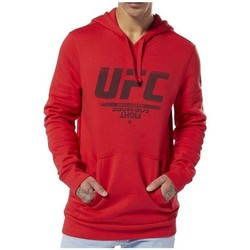 Clothing Men sweaters Reebok Sport Ufc FG Pullover Hoodie Red