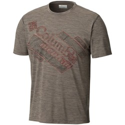 Clothing Men Short-sleeved t-shirts Columbia Trinity Trail 20 Grey