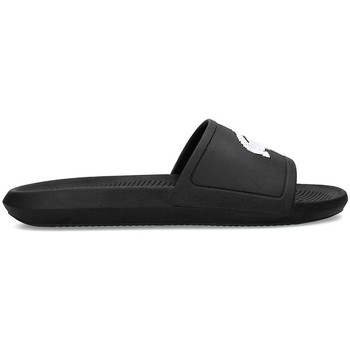 Shoes Men Sliders Lacoste Croco Slide Navy blue