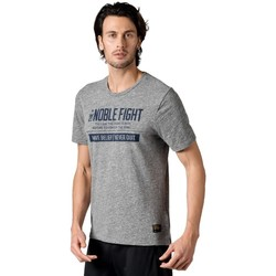 Clothing Men Short-sleeved t-shirts Reebok Sport Combat Noble Fight X Tshirt Grey