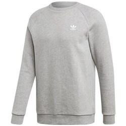 Clothing Men Sweaters adidas Originals Essential Crew Grey