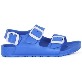 Shoes Children Sandals Birkenstock Milano Kids Eva Blue