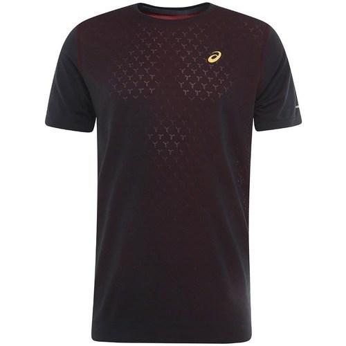 Clothing Men Short-sleeved t-shirts Asics Gel Cool SS Top Burgundy