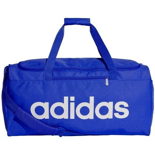 Bags Sports bags adidas Originals Linear Core Duffel Bag Blue