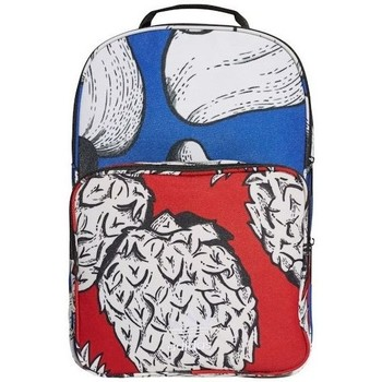 Bags Rucksacks adidas Originals Classic BP White, Red, Blue