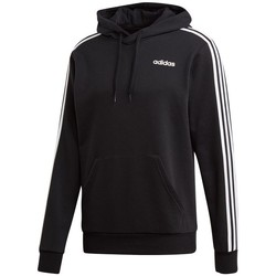 Clothing Men sweaters adidas Originals Essentials 3 Stripes PO FZ French Terry Black