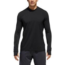 Clothing Men Long sleeved tee-shirts adidas Originals Supernova Tee Black