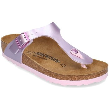 Shoes Children Flip flops Birkenstock Gizeh Pink