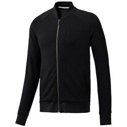 Clothing Men Sweaters Reebok Sport EL Bomber Trk Jacket Black