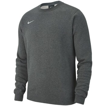 Clothing Men sweaters Nike Team Club 19 Crew Fleece Grey