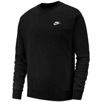 Clothing Men Sweaters Nike Club Crew Black