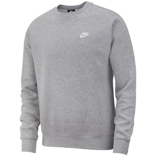 Clothing Men Sweaters Nike Club Crew Grey