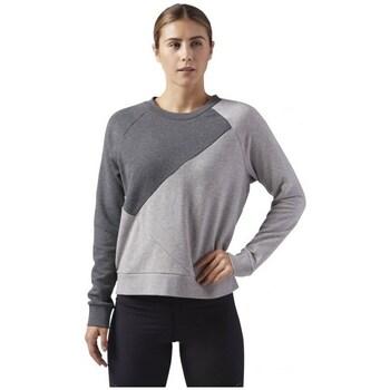 Clothing Women Sweaters Reebok Sport Wor CS Crew Grey, Silver