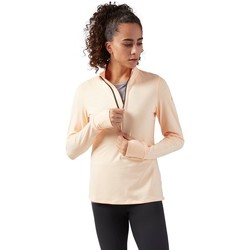Clothing Women sweaters Reebok Sport 14 Zip Running Pink