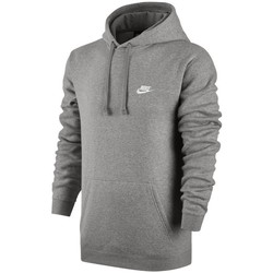 Clothing Men Sweaters Nike M Nsw Hoodie Club Grey Grey