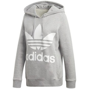 Clothing Women Sweaters adidas Originals Trefoil Grey