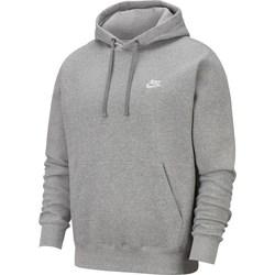 Clothing Men Sweaters Nike Club Hoodie PO Grey