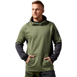 Clothing Men Sweaters Reebok Sport One Series Fleece Olive