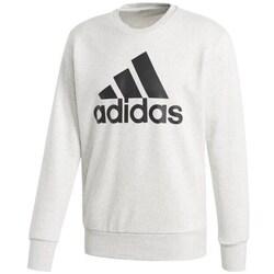 Clothing Men Sweaters adidas Originals Ess Big Logo Crew White