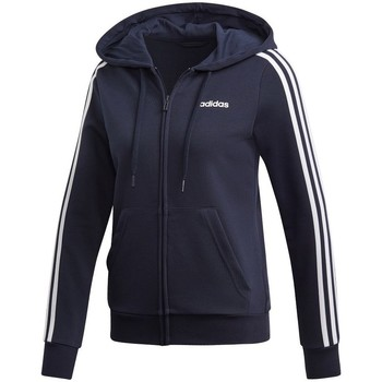 Clothing Women Sweaters adidas Originals 3 Stripes FZ HD Navy blue