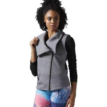 Clothing Women sweaters Reebok Sport Lhs Quick Grey