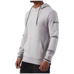 Clothing Men Sweaters Reebok Sport CS Graph Hoodie Grey