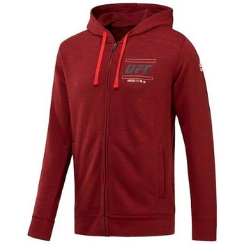 Clothing Men sweaters Reebok Sport Ufc FG Zip Hoodie Burgundy