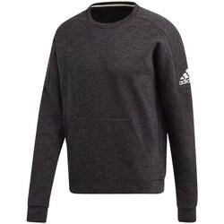 Clothing Men Sweaters adidas Originals ID Stadium CR Black, Graphite