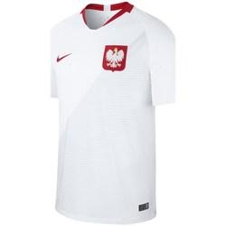 Clothing Men Short-sleeved t-shirts Nike Breathe Stadium Home White