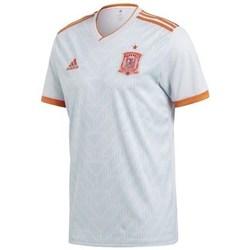 Clothing Men Short-sleeved t-shirts adidas Originals Spain Away Jersey Replica White
