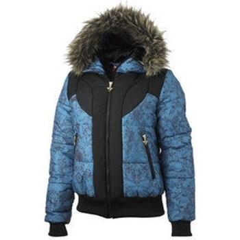 Clothing Women Jackets Puma Best Winter Jacke Black,Blue