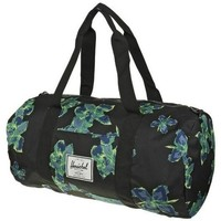 Bags Sports bags Herschel Midvolume Duffle Neon Floral Black, Green, Turquoise