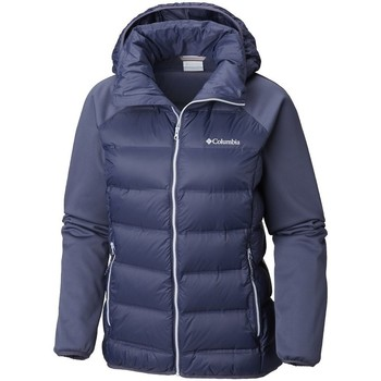 Clothing Women Duffel coats Columbia Explorer Falls Hybrid Navy blue