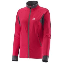 Clothing Women Jackets Salomon Momemtum W Pink