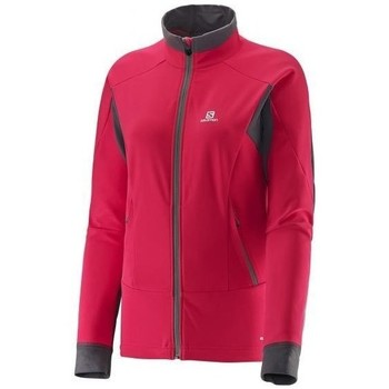 Clothing Women Jackets Salomon Momemtum W Red