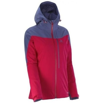 Clothing Women Jackets Salomon LA Cote Jkt W Lotus Red,Violet